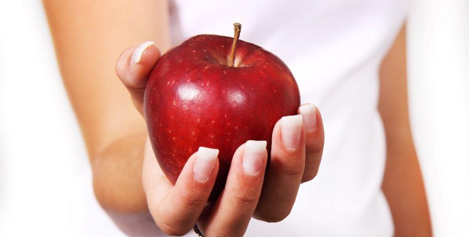 Apples for healthy teeth