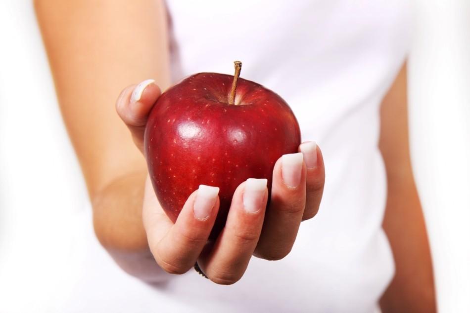 Healthy food for teeth